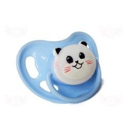 Panda Adult Baby Nuckel Pacifier hellblau