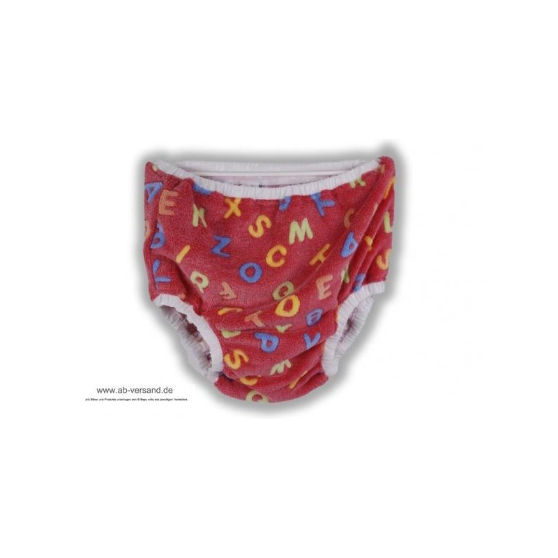 Kati reversible Pants ABC red