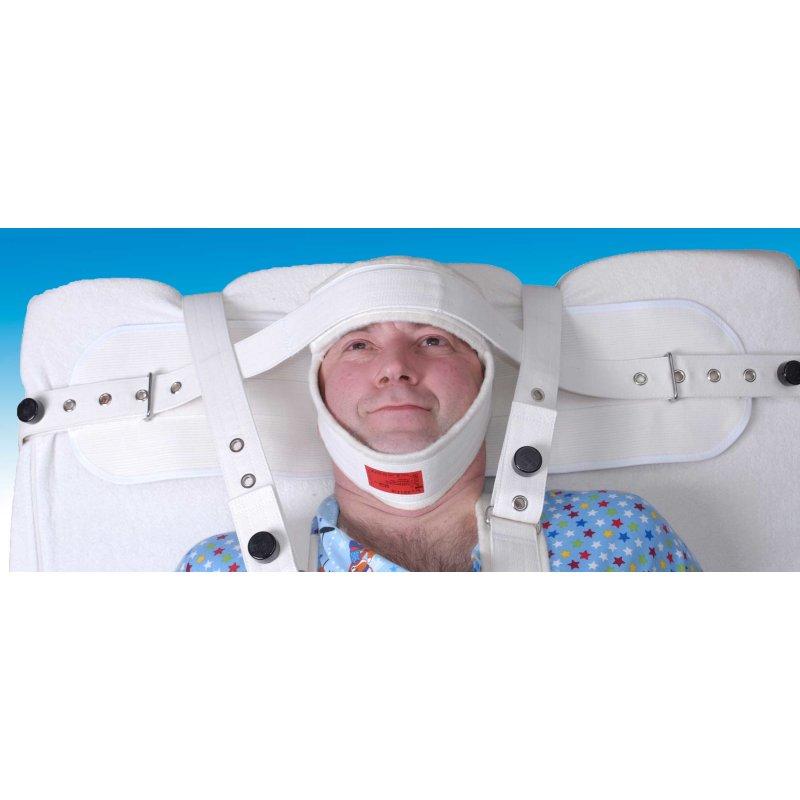 SEGUFIX-Head Positioning Belt with Magnetic Lock/ Velcro