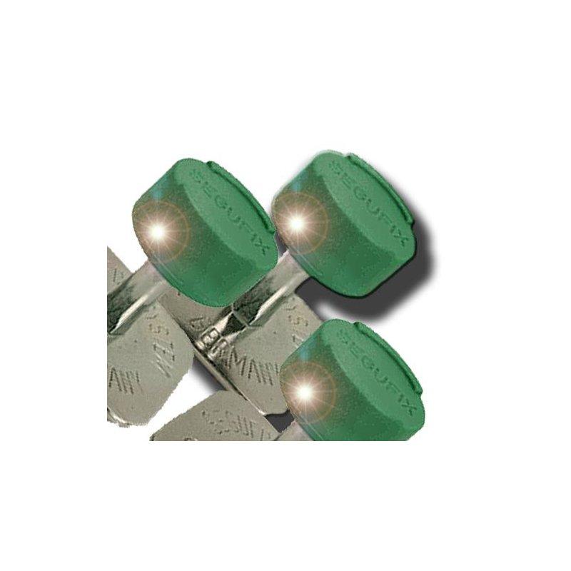 Dreh-Magnetschloss grün