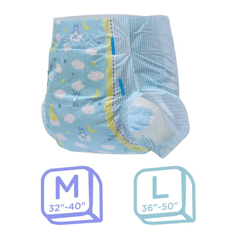 Little Dreamers Adult Diapers 10 Pieces Pack