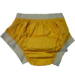 2208 PU Pants No.1007  yellow