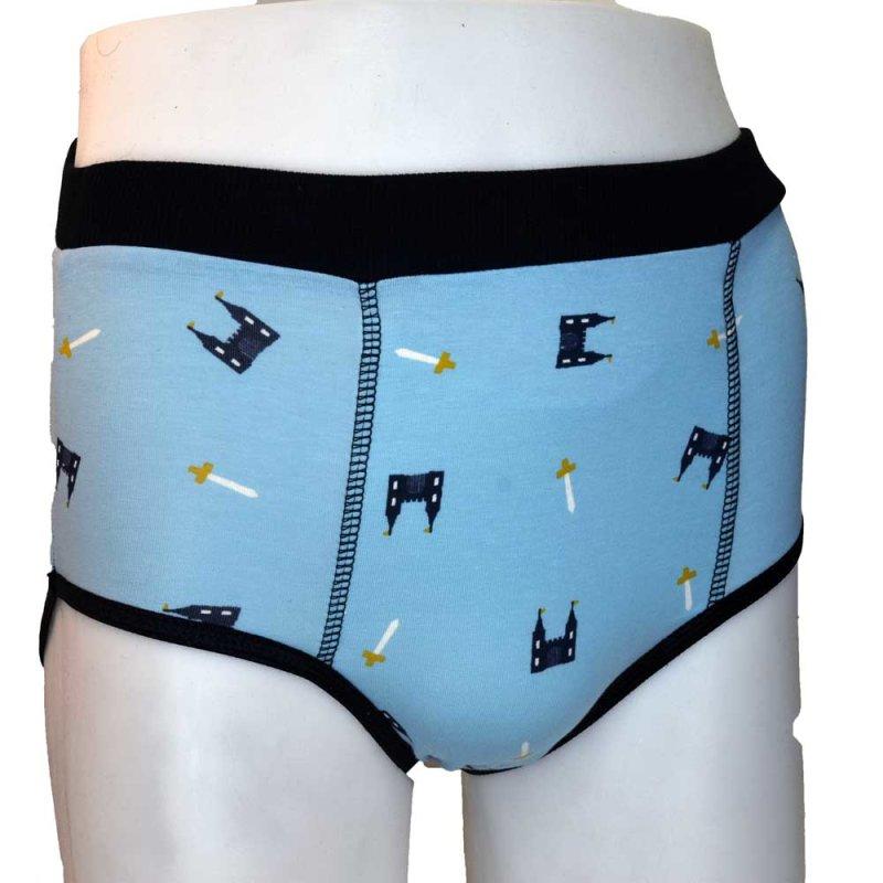 Big Kiddyfee Mädchen Schloeschen Unterhose  mit Einlagefach für Binden