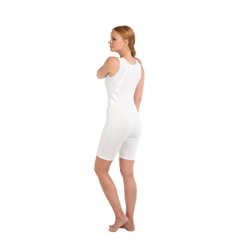 Suprima 4696 Pflegebody BW/Elast. ohne Arm  grösse