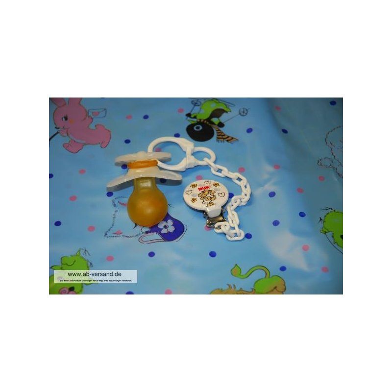 Adult Baby Pacifier Nuk Medic Pro L with chain