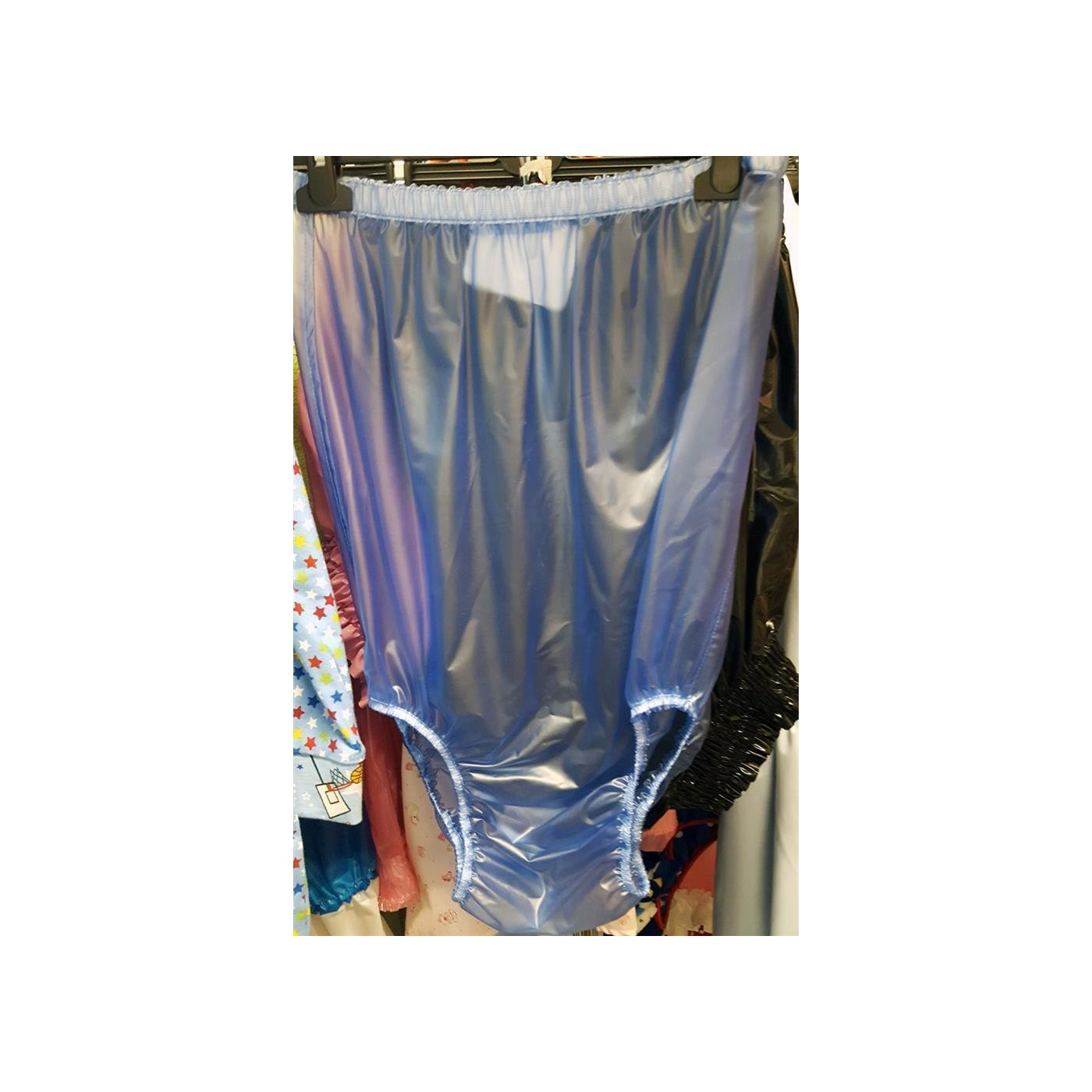 AB175 Schlupfhose extra hoch HELLBLAU XL, 29,00 €  Adult
