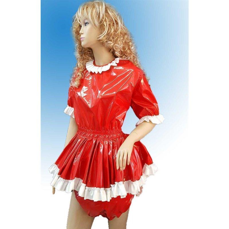 PVC Kleidchen Zora mit Rüschen von Big Kiddyfee