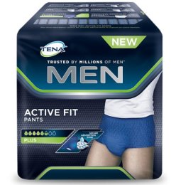 Erwachsenen Windeln Trainer, TENA Men Active Fit Pants L