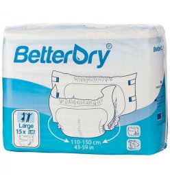 BetterDry Windelhose GR Medium  Nacht weiss , 15er...
