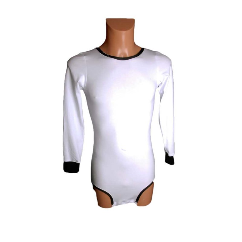 Shirt  Wickel Body 0982 mit langen Arm  schwarz