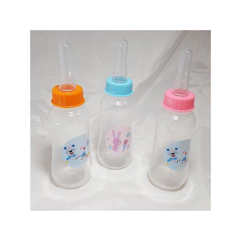 Adult Baby Trinklflasche versch. Muster  mit extra großem Sauger Farbe